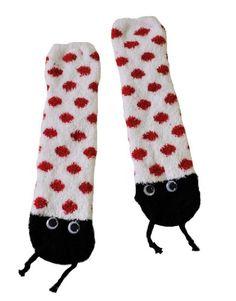 RSG Soft and Cuddly Animal Slipper Socks With Grips (Ladybug) RSG http://www.amazon.com/dp/B003DWR5DC/ref=cm_sw_r_pi_dp_q3hcwb1EDV2N0