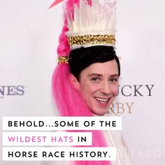 Watch this video to discover some of the most wild Kentucky Derby hats.