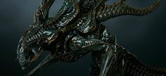 New Photos and Release Details for Sideshow's Alien King Maquette