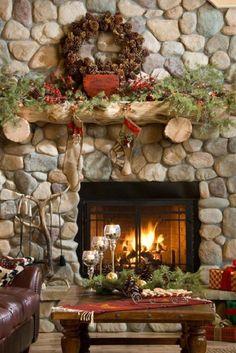 Winter Mantle Decoration Ideas