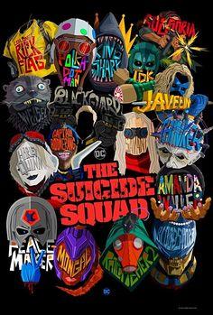O Esquadrão Suicida (The Suicide Squad) - Poster, teaser trailer e video de bastidores da sequência indireta do filme de 2016 da DC, com lançamento em agosto de 2021...  #oesquadraosuicida #thesuicidesquad #bdcomicspt Batman Wonder Woman, Joker Dc Comics, Bd Comics, Dwayne Johnson, Teaser, Dc Comics Peliculas, Bat Joker, Superman Dawn Of Justice, Comic Art