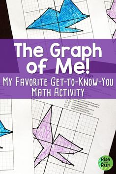 Get to Know You Graph for Back to School Students love this ice breaker at the beginning of math class! They graph points based on a series of characteristics about themselves. Each ones turns out unique! Great get to know you activity for back to school Get To Know You Activities, Icebreaker Activities, First Day Of School Activities, Math Games, Icebreakers, Math Lab, Beginning Of School, Middle School, 7th Grade Math
