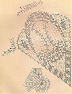 Only Crochet Patterns Part 4 - Beautiful Crochet Patterns and Knitting Patterns Crochet Doily Diagram, Filet Crochet Charts, Crochet Doily Patterns, Crochet Mandala, Crochet Motif, Crochet Designs, Crochet Doilies, Knitting Stitches, Knit Crochet