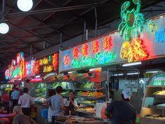 Night Food Markets, Kuching in Sarawak #MalaysiaAus #AirAsia
