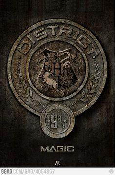 Harry Potter & Hunger Games ~ I want to live in district 9 and 3/4