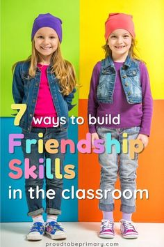 Your guide to teaching kids how to make friends and develop strong relationship skills in the elementary (kindergarten, first, second, third, fourth, and fifth grade) classroom. Find lessons, activities, and strategies, such as how to share, take turns, listen, be a good friend, and show teamwork and cooperation. Classroom friendships can be built through play, social skills lessons, and opportunities to work as a group and solve problems. Grab the free friendship scavenger hunt printable. Teaching Empathy, Teaching Social Skills, Social Emotional Learning, Teaching Kids, Teaching Tools, Friendship Activities, Kindness Activities, Respect Activities, Student Behavior