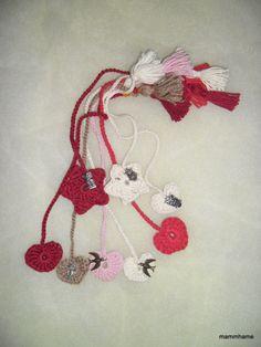 marque page au crochet