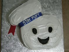 Stay Puft Marshmallow Man Cake (Sept '08) by miVi3k, via Flickr