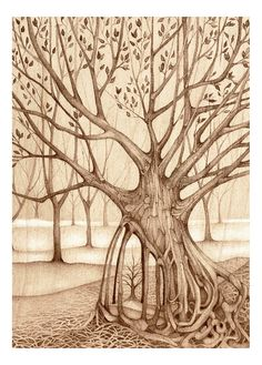 More magical tree art