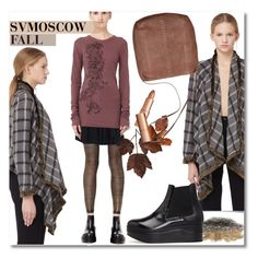 """""""Color of Fall"""" by andrea2andare ❤ liked on Polyvore featuring Ann Demeulemeester, Share Spirit, Maison Margiela, Rick Owens and Charlotte Tilbury"""