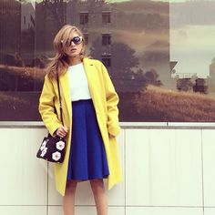 ローラ Rola #yellowcoat #myoutfit #christophelemaire #rola #ローラ