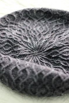 beautiful knitted texture knit by Owlish pattern: Flavia by Beth Kling