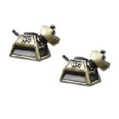 Dr. Who K-9 Cuff Links