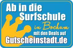 Mit Glück günstiger in die #Surfschule in #Bochum mit #Gutscheinstadt