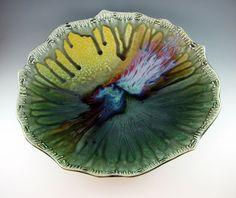 Large Ceramic Bowl / Porcelain / Serving / by Botanic2Ceramic, $250.00