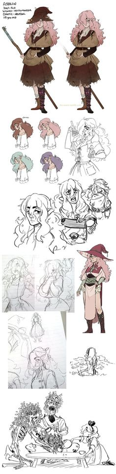 My most recent DnD character  Art Blog: kaylascribbles.tumblr.com/