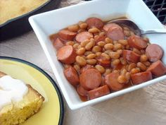 Mommy's Kitchen - Old Fashioned & Southern Style Cooking: Beans and Franks or Beanie Weenee