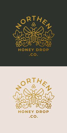Logo Branding, Branding Design, Honey Logo, Honey Label, Honey Brand, Honey Packaging, Drop Logo, Bee Farm, Bee Keeping