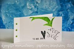 Papieren Avonturen: white cas card