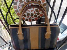 FENDI Handbag / Vintage Leather Handbag / Brown by TheThriftanista, $250.00