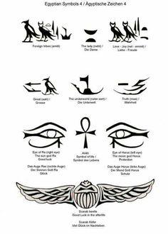Egypt Tattoo Eye Of Horus Tattoo Egyptian Tattoos Egyptian Symbols . Symbol Tattoos, Egyptian Symbol Tattoo, Egyptian Symbols, Body Art Tattoos, Sleeve Tattoos, Cool Tattoos, Ankh Tattoo, Egyptian Eye Tattoos, Eye Of Ra Tattoo
