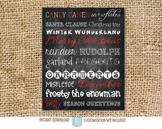 Printable christmas decorations. Makes a great decoration item or gift. Click through for instant cards, customizable cards, holiday decor and more. Or shop our 900+ designs for weddings, anniversaries, new babies, graduations, and more.