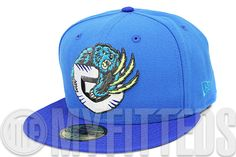 Vancouver Grizzlies Angelic Force College Royal Volt Air Bakin Matching New Era Fitted Hat