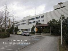 U.S. Army Hospital Berlin....Newer Building...where I worked and my twin daughters were born....