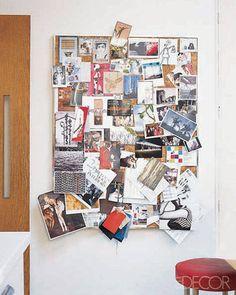 case study - Kitchen Bulletin Board Ideas