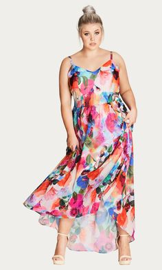 7977945c2e Shop Women s Plus Size Women s Plus Size Maxi Dress