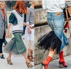 Funky Fashion, Denim Fashion, Skirt Fashion, My Unique Style, My Style, Cool Outfits, Summer Outfits, Denim Pencil Skirt, Love Jeans