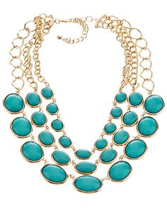Kenneth Jay Lane Resin Chain Link Necklace