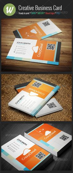 391 best business card showcase images on pinterest in 2018 buy creative business card by crazyleaf on graphicriver creative business card template suitable for any business the design includes both the front and cheaphphosting Gallery