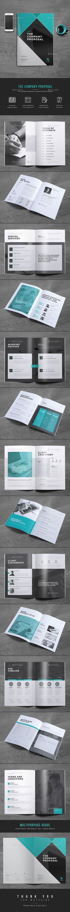 Proposal Project Proposal InDesign Template v2