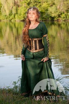 Medieval Dress With Belt