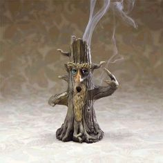 I love incense, and this tree-man burner is a little bit Wizard of Oz, and a little bit LOTR.