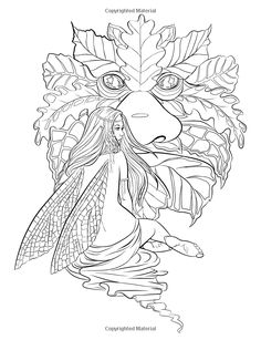 Adult Coloring Pages By Artist Selina Fenech Fantasy Myth Mythical Mystical Legend Elf Elves Dragon Dragons Fairy Fae Wings Fairies