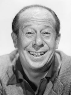 Bert Lahr great character actor, known for the cowardly lion from the Wizard of Ozz,