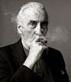 Christopher Lee - Photo by Andy Gotts