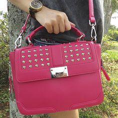 Bolsa de mão e/ou tiracolo #shoestock #outubrorosa #outubrorosashoestock #pink Ref 13.06.0034