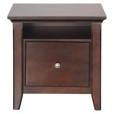 Avington File Cabinet Dark Tobacco