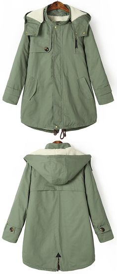 Best warm coat, $54.99 Now! Free shipping&easy return! It's a time to slip into something a little more comfortable. This cozy hooded coat features a removable hooded design and fleece lining. See the full collection at Cupshe.com !