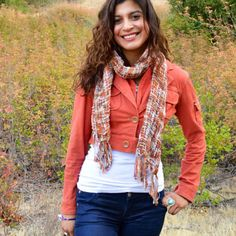 Fall Fashion Handcrafted Scarf Giveaway - Enter to Win Your Favorite Scarf from Smiles by JEM