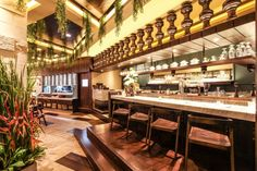 Bebek Tepi Sawah restaurant by AINT Studio, Jakarta - Indonesia