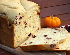 Orange Cranberry Bread... this makes a most wonderful French Toast!