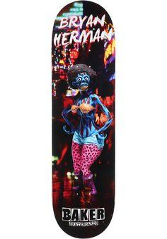 Baker Herman-Obey, Deck, multicolored Titus Titus Skateshop #Deck #Skateboard #titus #titusskateshop
