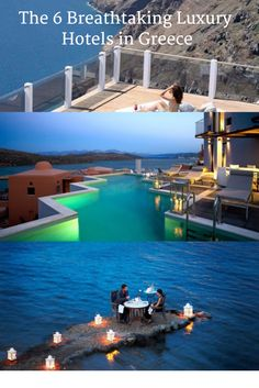 Planning a luxury holiday in Greece? As well as bringing you the best luxury hotels and stylish romantic retreats that Greece has to offer, we've put together a Greece Hotels, Greece Holiday, Luxury Holidays, Luxury Hotels, All Over The World, Travel Style, Places To See, Travel Destinations, Bucket