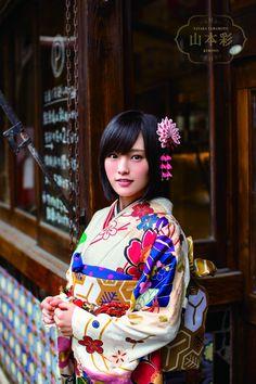 YAMAMOTO SAYAKA 山本彩 kimono
