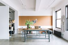 The light-filled LA office of an architect and designer featured in Studio Visit: At Work with Two Downtown LA Pioneers. Photograph by Jessica Commingore for Remodelista.