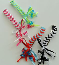 Ribbon Barrette's......with bow's